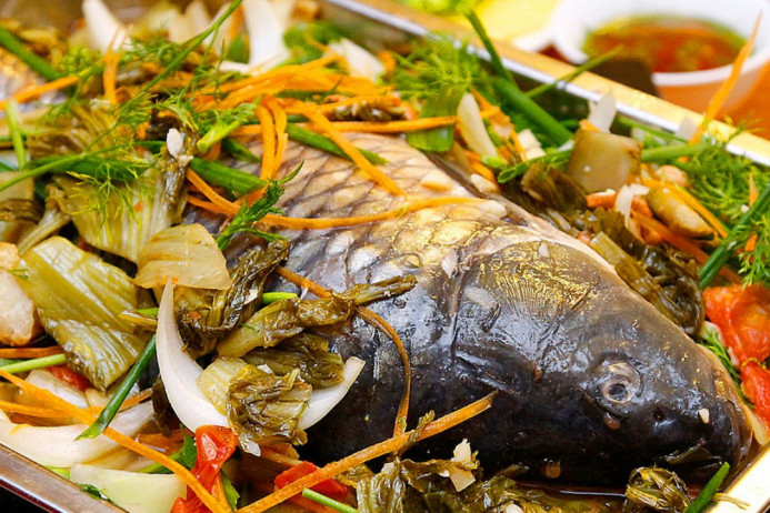 Lẩu cá chép om dưa nấu sao cho ngon? – – Nấu Cỗ 29